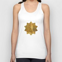 rush Tank Tops featuring Gold Rush by Alexander Studio