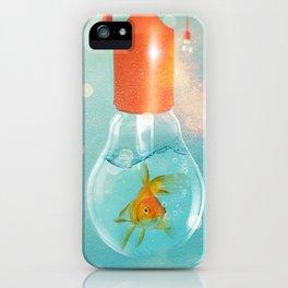 Ideas and Goldfish ... iPhone Case