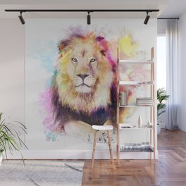 Sunny lion Wall Mural