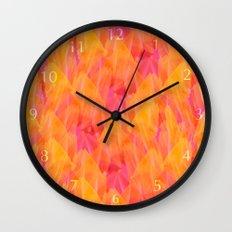 Tulip Fields #105 Wall Clock