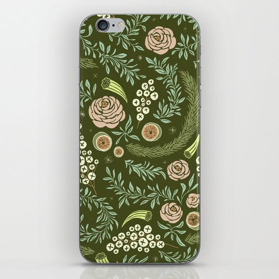 Spring's Dawn Floral iPhone & iPod Skin