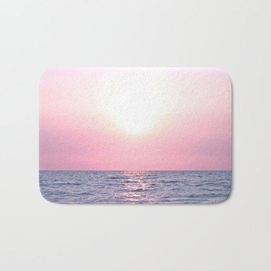 Calming Sea view Bath Mat