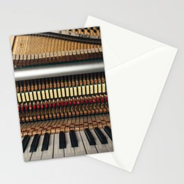 Piano inside Stationery Cards