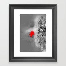 On/off Framed Art Print