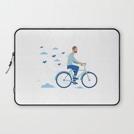bird man bike Laptop Sleeve
