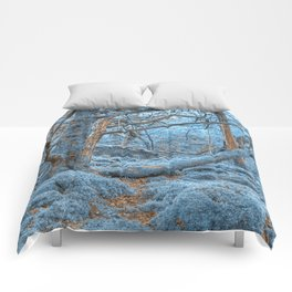 Sapphire Forest Comforters