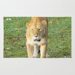 Extraordinary Animals - Lioness Rug