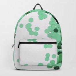 Glitz-Green Backpack