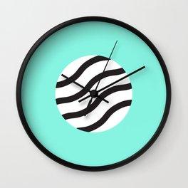 Zebra circle Wall Clock