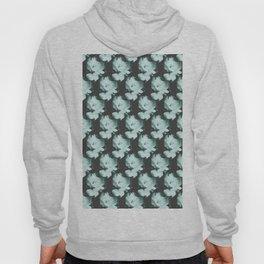 Roses Monochrome Pattern Hoody