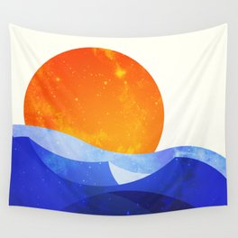 Sun in the Dunes Wall Tapestry