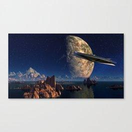 Future Landscape Canvas Print