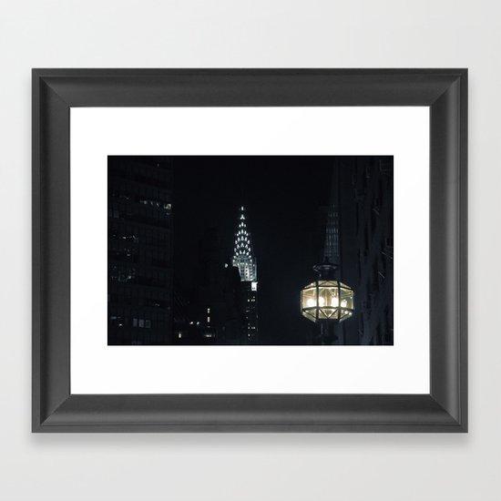 Spectral City Framed Art Print