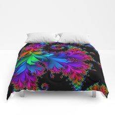 Rainbow Spiral Comforters