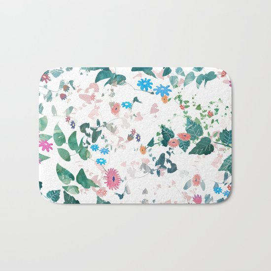 Nature Explosion Bath Mat