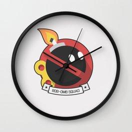 Bob-omb Squad Wall Clock