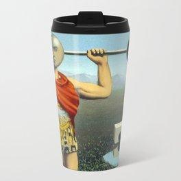 Perpetual motion parody Travel Mug