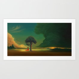 Wondrous Art Print