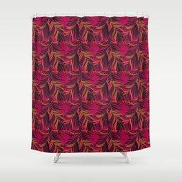 Thai Broccades feather design pattern Shower Curtain