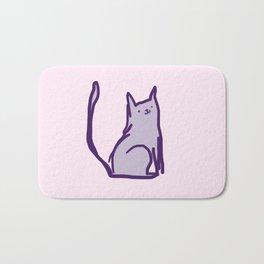 Cheeky Cat Bath Mat