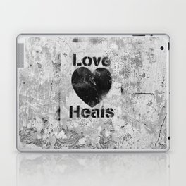 Love Heals Laptop & iPad Skin