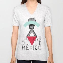Locals Only - Ciudad de México Unisex V-Neck