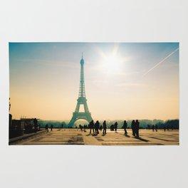 tour eiffel architecture in Paris Rug