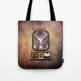Time machines flux capacitor iPhone 4 5 6 7 8 x, tshirt, mugs and pillow case Tote Bag