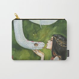 The White Snake Carry-All Pouch
