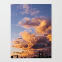 Sunset in Queens Canvas Print