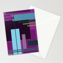 Rectangles Stationery Cards