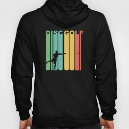 Vintage 1970's Style Disc Golf Graphic Hoody