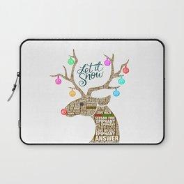 BTS Reindeer: Happy Christmas! Laptop Sleeve