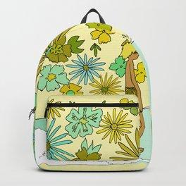 retro daydreams hang 10 florida // retro surf art by surfy birdy Backpack