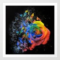Multicolour Art Print