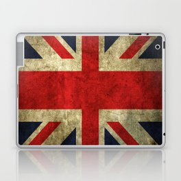 GRUNGY BRITISH UNION JACK  DESIGN ART Laptop & iPad Skin