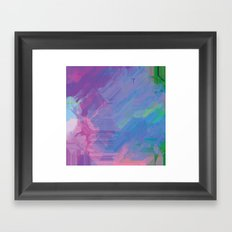 Glitchy 2 Framed Art Print