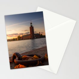 Stockholm Autumn Stationery Cards