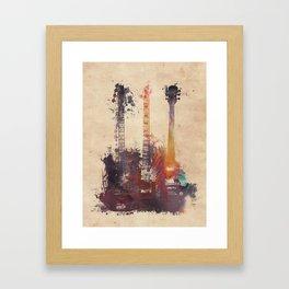 guitars 3 Framed Art Print