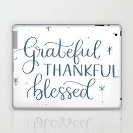 Grateful Thankful Blessed Laptop & iPad Skin