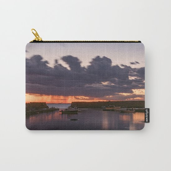 Rainy Lanescove Sunset Carry-All Pouch