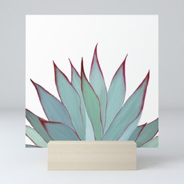 Elegant Agave Fringe Illustration Mini Art Print