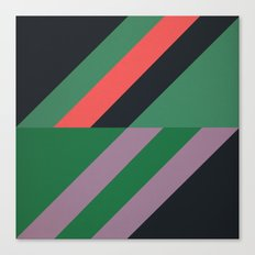Modernist Geometric Graphic Art Canvas Print