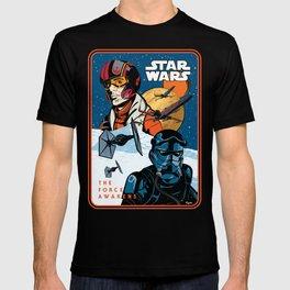 Poe Dameron vs. Tie Fighter Pilot T-shirt