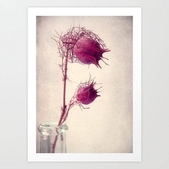 bristly Art Print