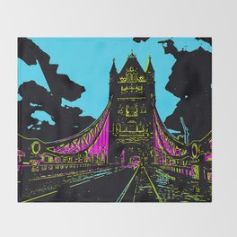 London Bridge Throw Blanket