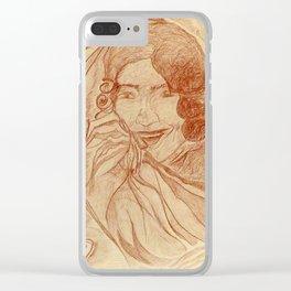 Casanova by J. Baron Clear iPhone Case