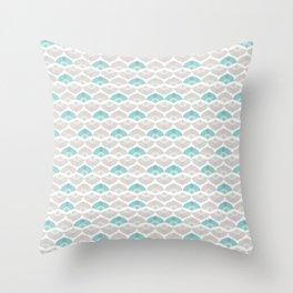 Simply Cream Throw Pillow