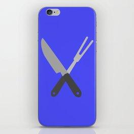 knife and fork iPhone Skin