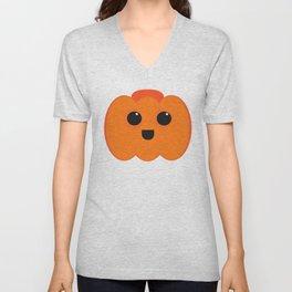 Lil Pumpkin Unisex V-Neck